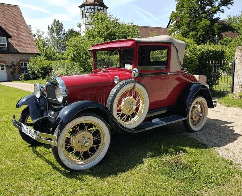 Ford Modell A aus der Sammlung von Crailsheim