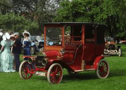 Ford T Town Car von 1909 aus der Sammlung von Crailsheim