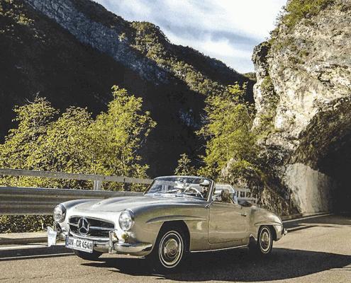 Mercedes 190 SL aus der Sammlung von Crailsheim