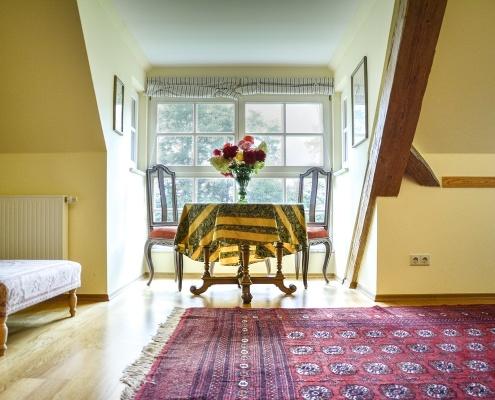 Details des Ferienapartments Emily im Gästehaus von Schloss Sommersdorf
